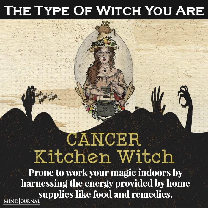 type of witch you are cancer