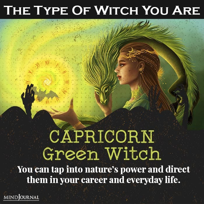 type of witch you are capricorn