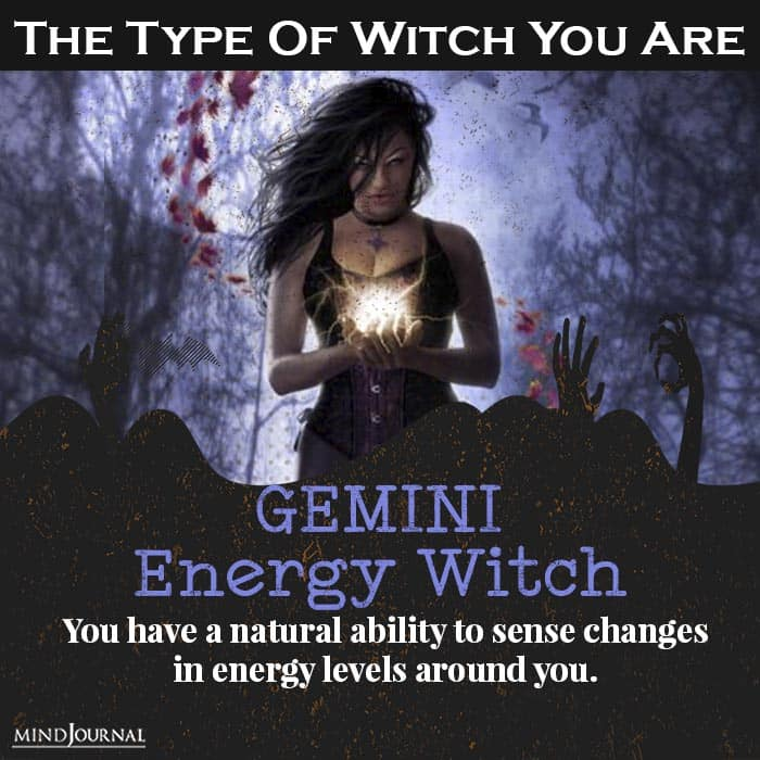 type of witch you are gemini