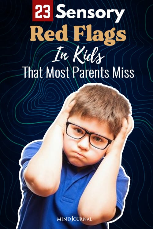 Alarming Red Flags Sensory Issues Kids pin