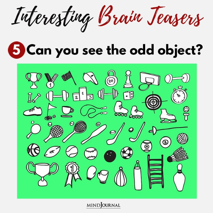 Brain Teasers Know Sharp Eyes see odd object