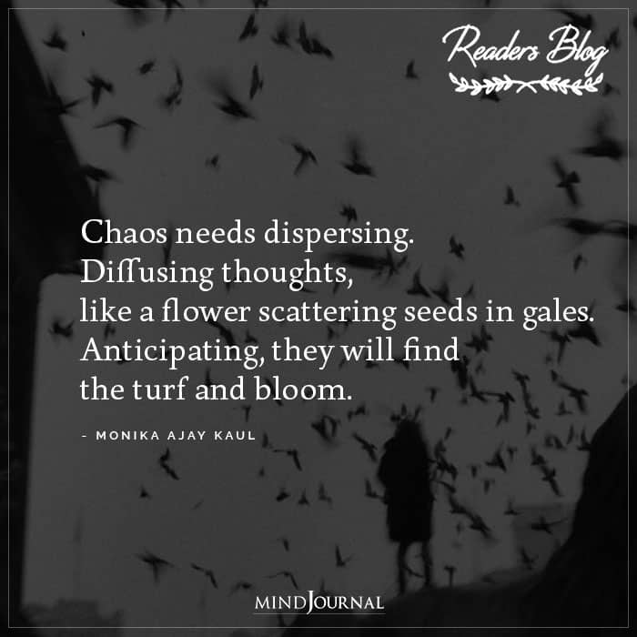 Chaos Needs Dispersing