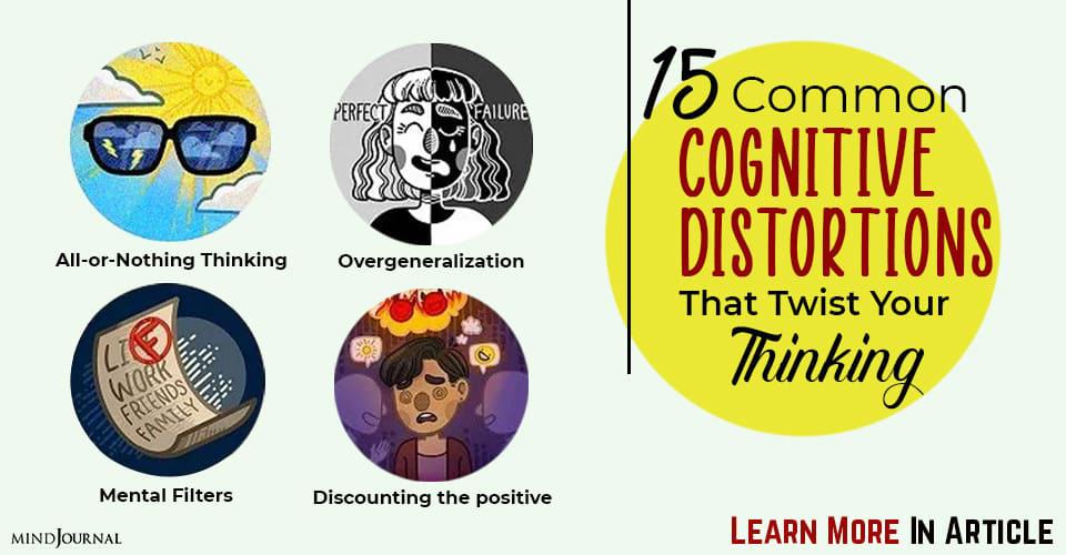 Common Cognitive Distortions Twist Thinking