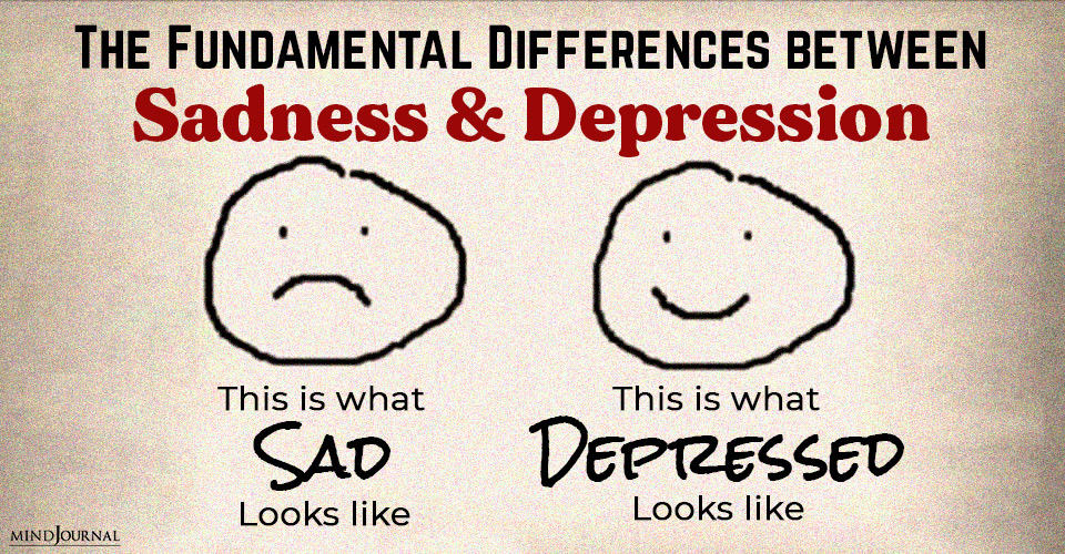 Differences Sadness Depression
