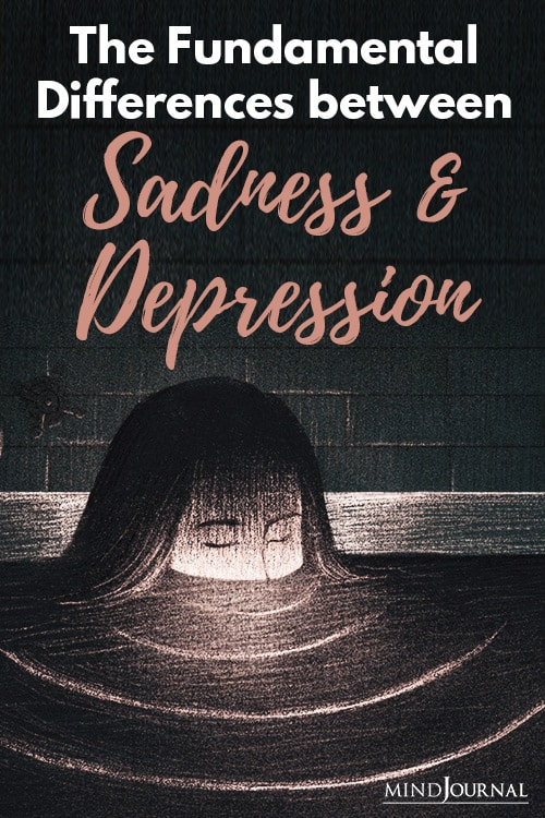 Differences Sadness and Depression