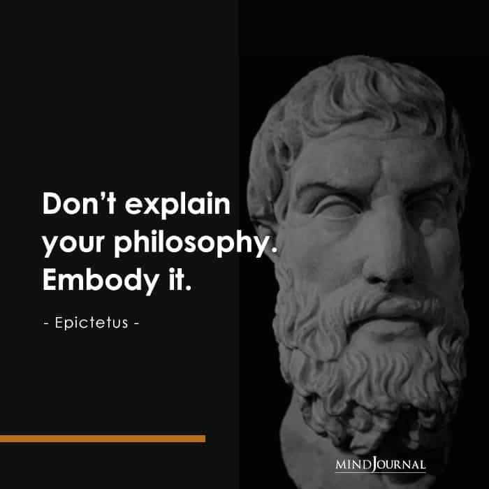 Don't explain your philosophy