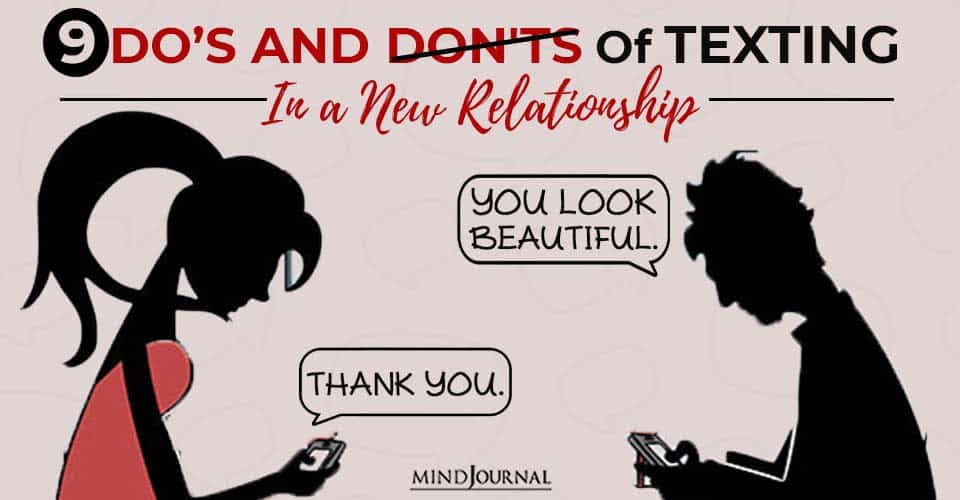 Dos Donts Texting In New Relationship