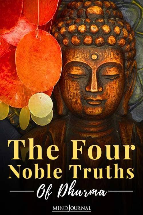 Four Noble Truths Dharma pin