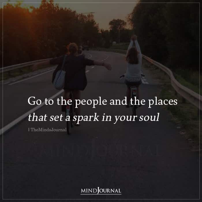 Go to the People And The Places