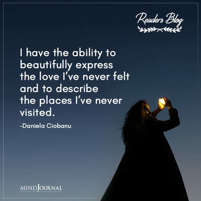 I Have The Ability To Beautifully Express