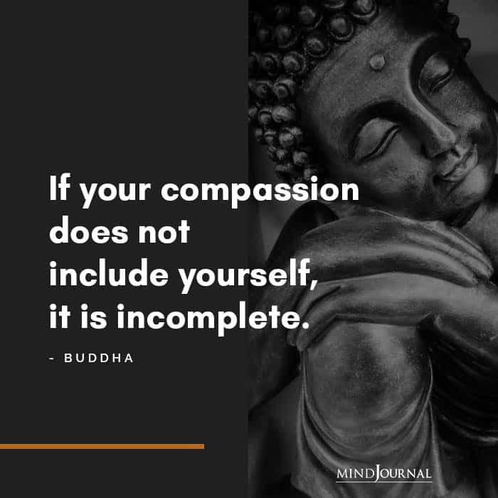 If your compassion does not include