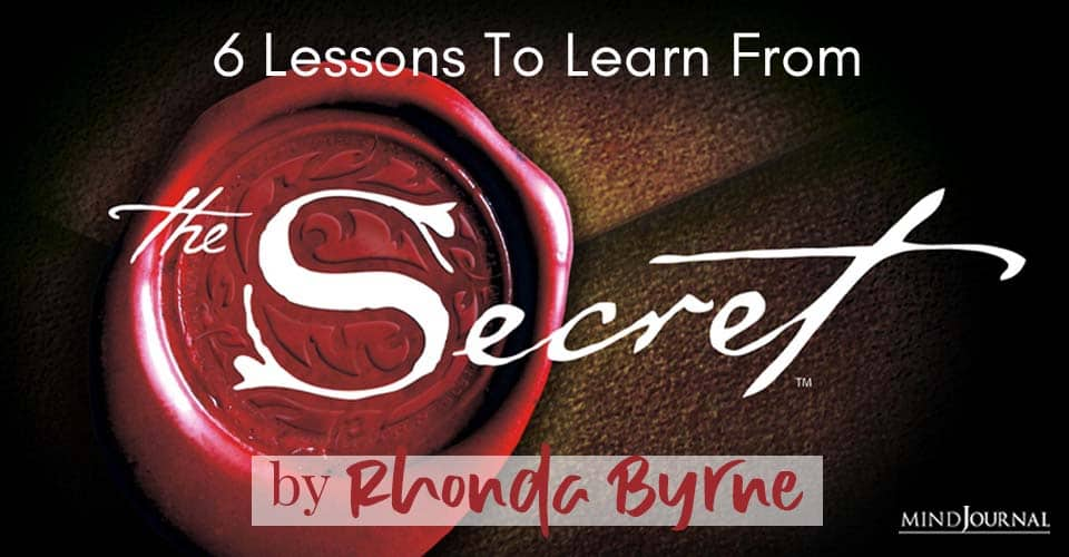 Lessons To Learn From Secret by Rhonda Byrne