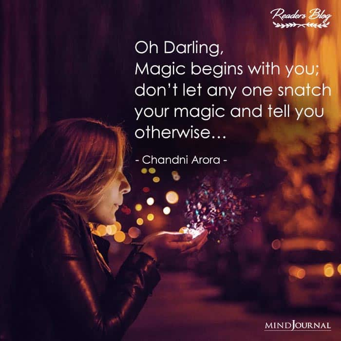 Magic Begins With You
