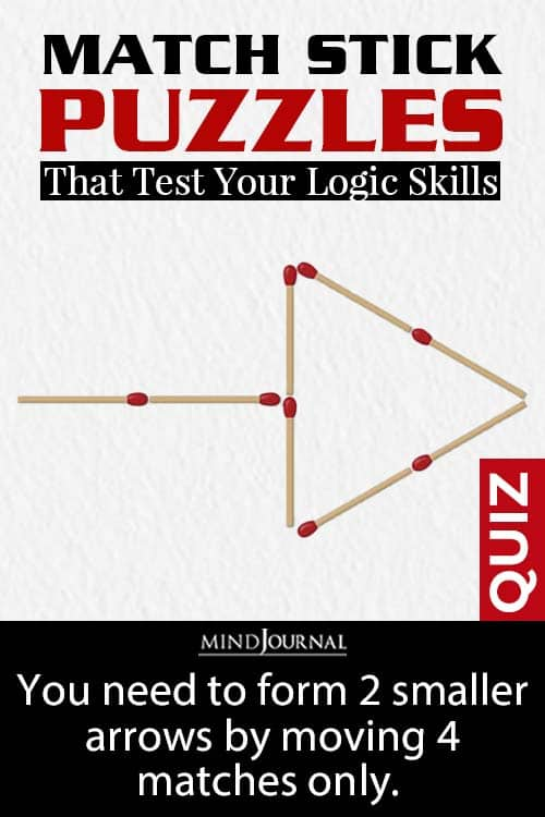 Matchstick PuzzleTest Skills pin