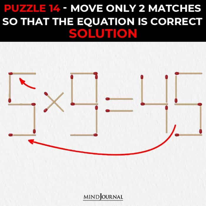 21 Matchstick Puzzles That Test Your Logic Skills