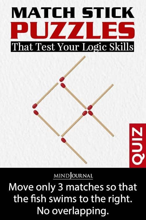Matchstick Puzzles Test Logic Skills pin