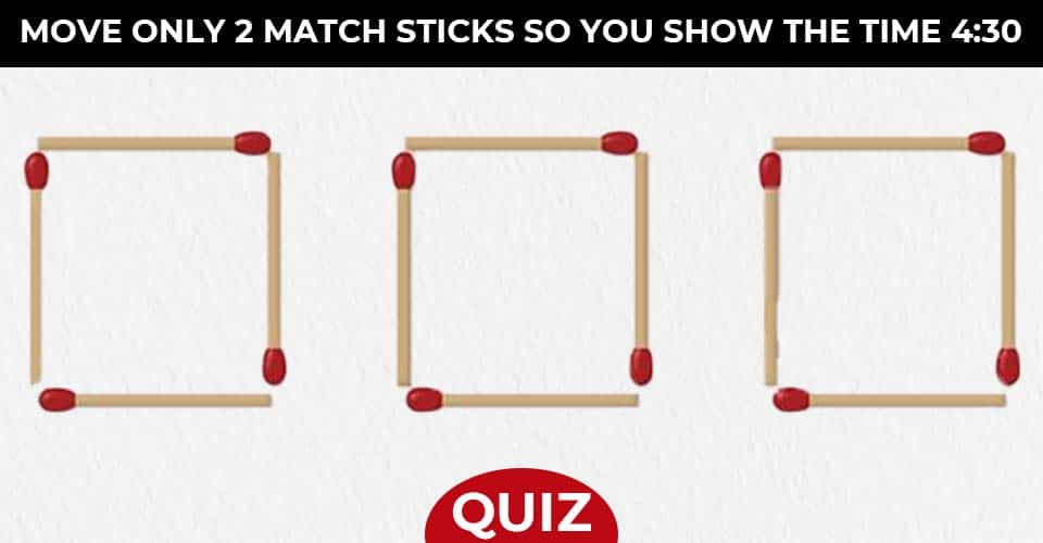Matchstick Puzzles Test Logic Skills