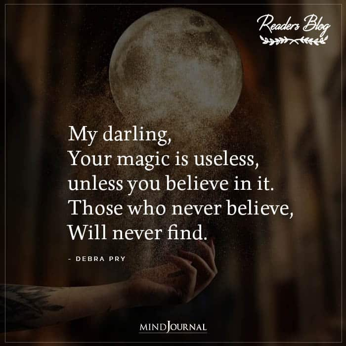 My Darling Your Magic Is Useless