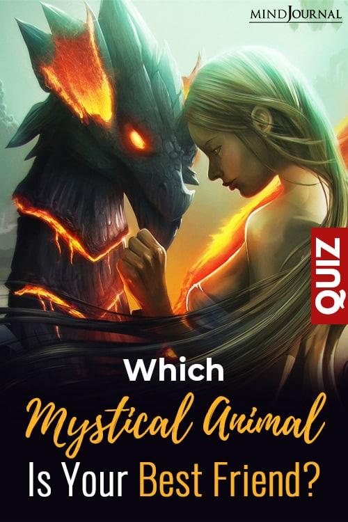 Mystical Animal Best Friend pin