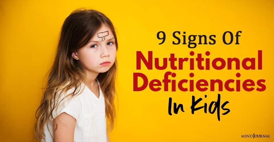 Nutritional Deficiencies Kids