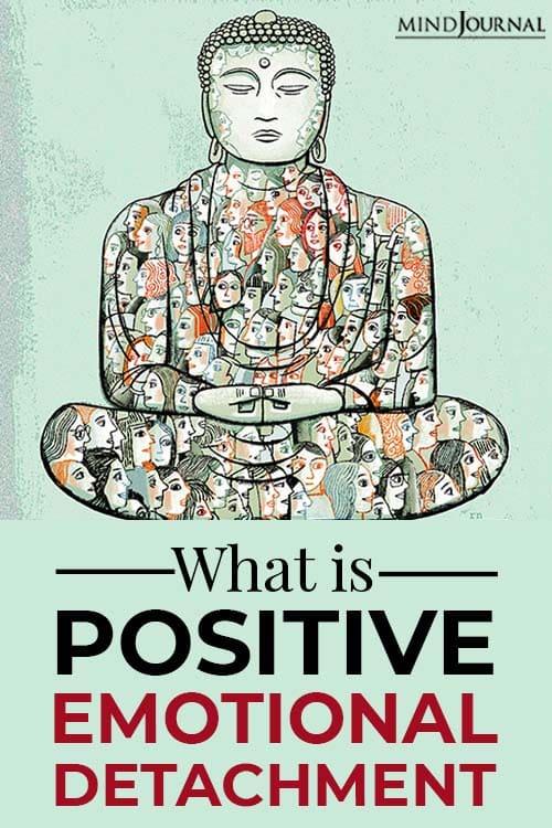 Positive Emotional Detachment Definition pin