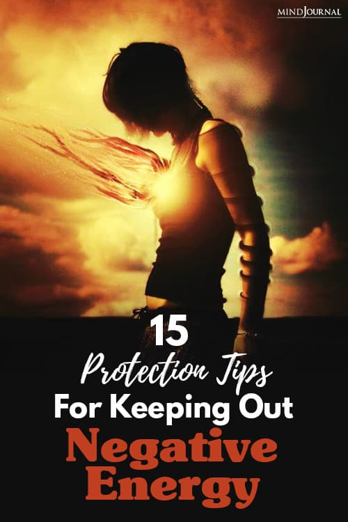 Protection Tips For Keeping Out Negative Energy Pin