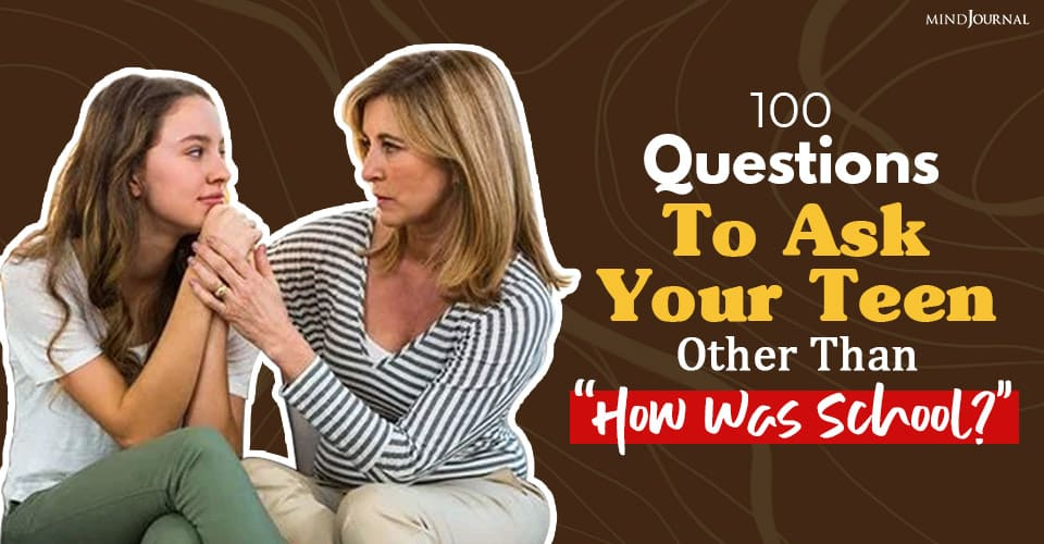 Questions Ask Your Teen