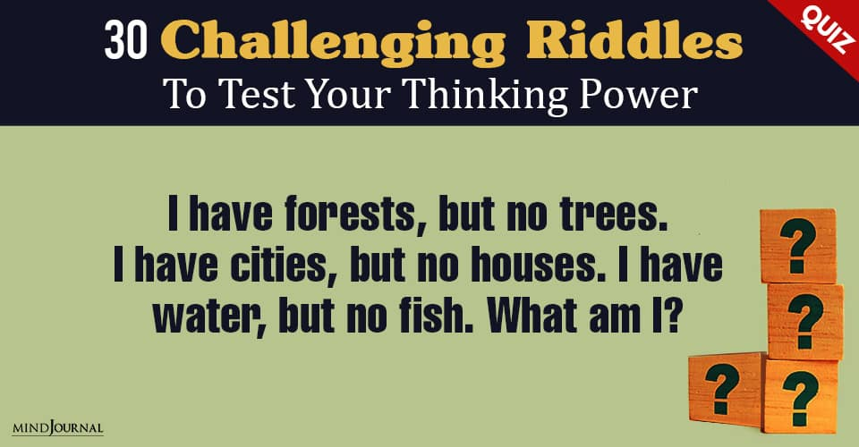 Riddles Test Thinking Power