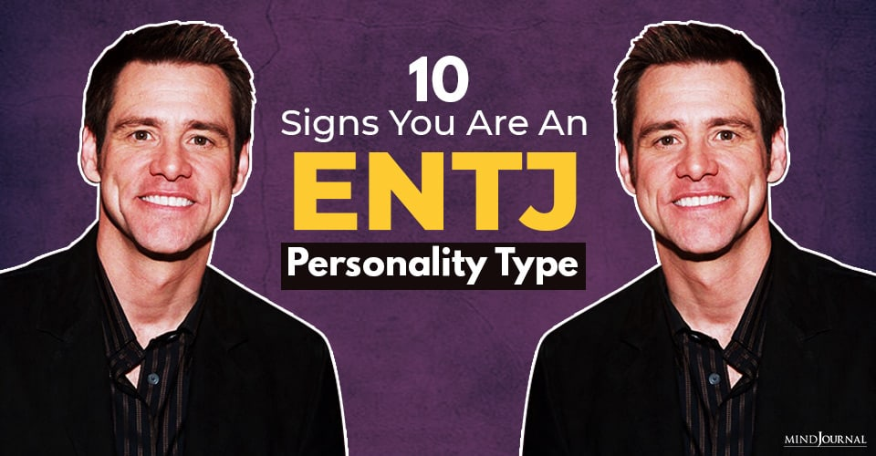 Signs ENTJ Personality Type