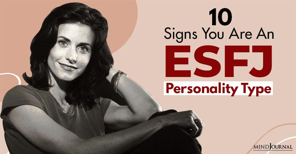 Signs ESFJ Personality Type