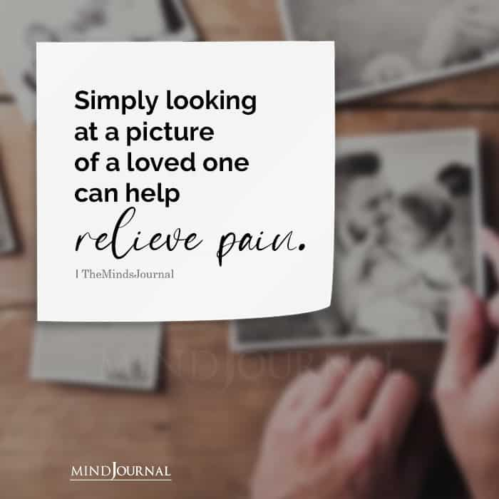 Simply Looking At A Picture Of A Loved One