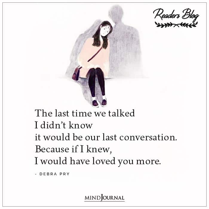 The Last Time We Talked