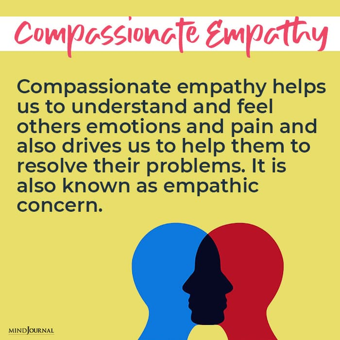 Types of Empathy compassionate
