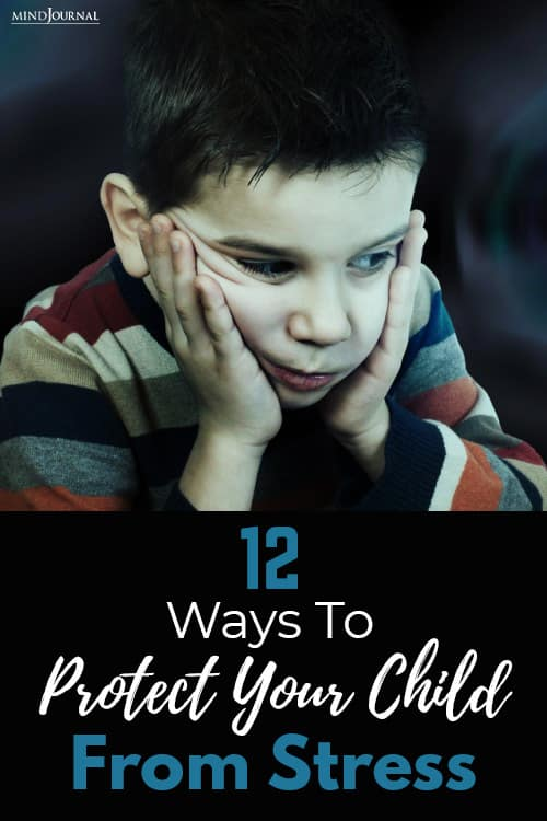 Ways Protect Child Stress pin