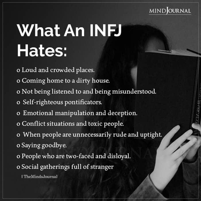 What Infj Hates