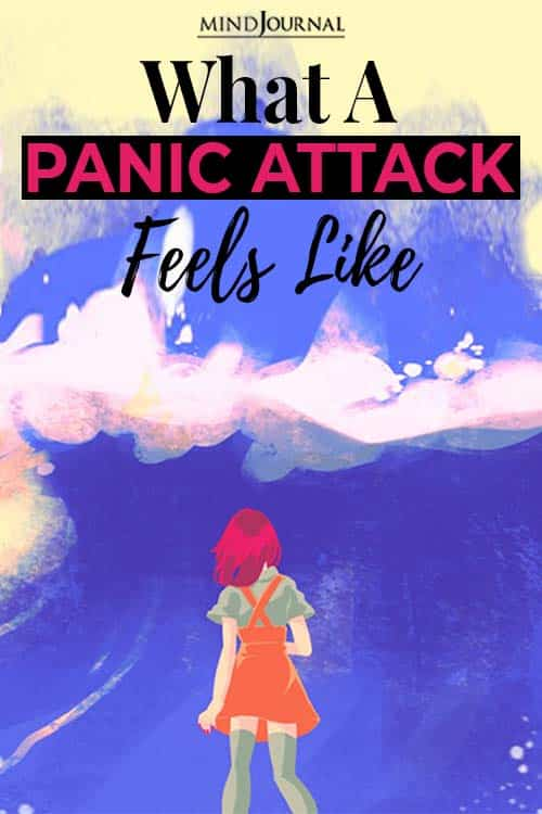 What Panic Attack Feels Like pin