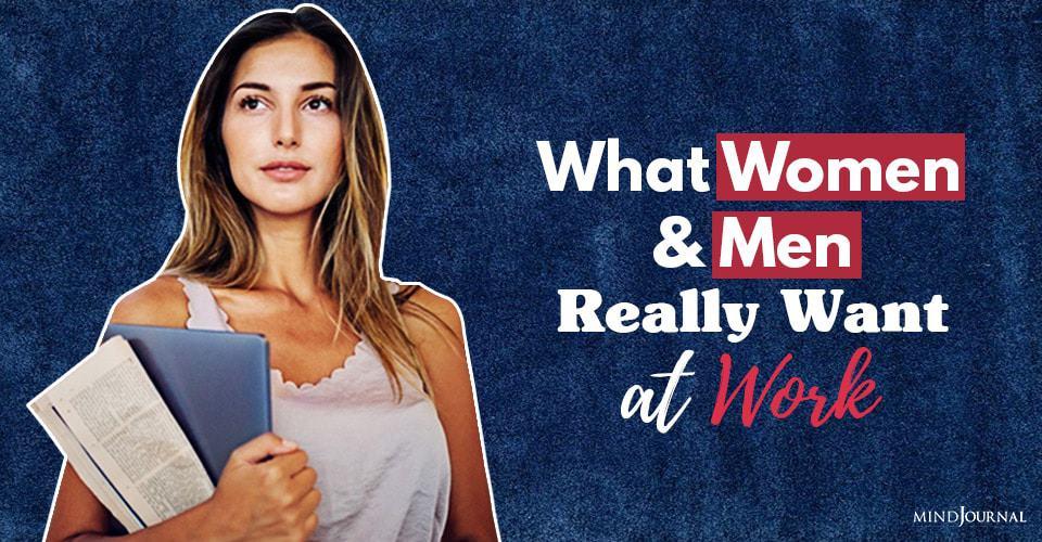 Women Men Want at Work