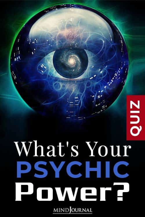 Your Psychic Power pin