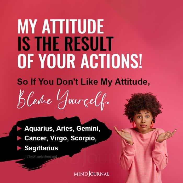 Zodiac Signs With Attitude