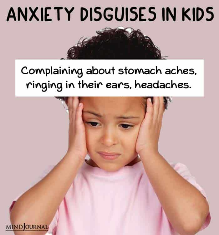 anxiety disguise kids aches