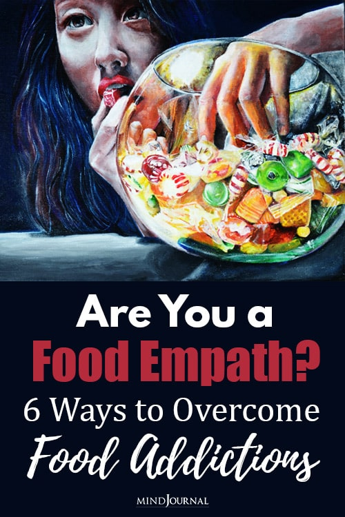are you a food empath pin