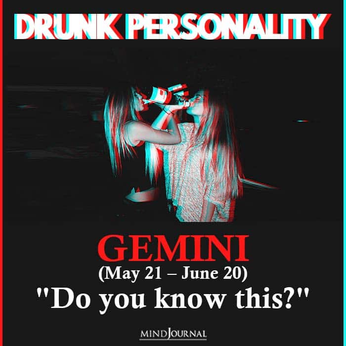 The Kind of Drunk You Are Based On Your Zodiac Sign