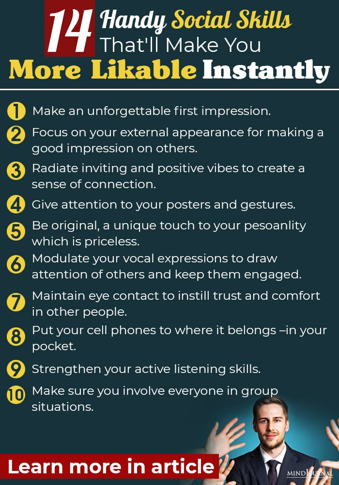 handy social skills that will make you more likable instantly info