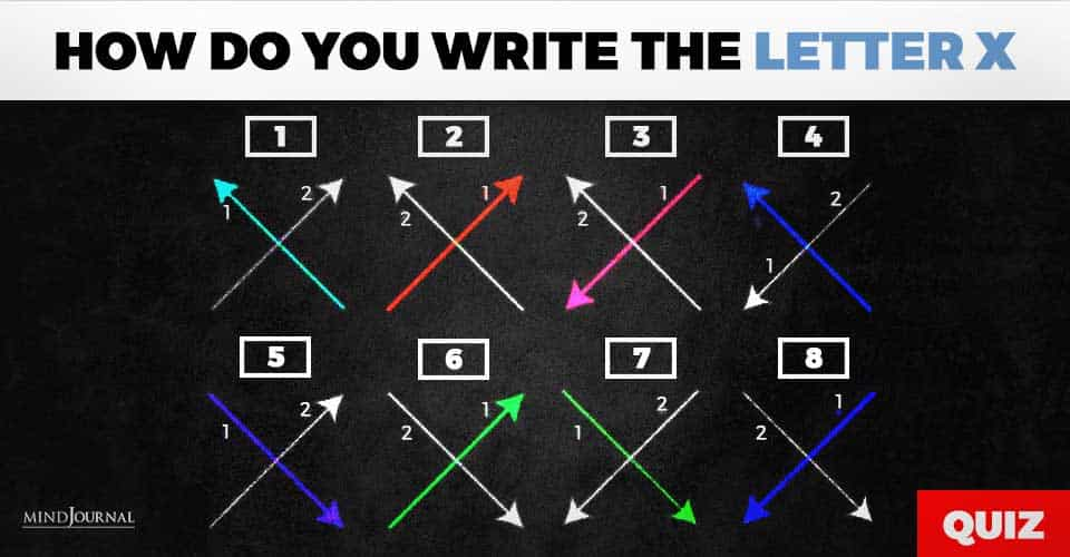 how do you write the letter x