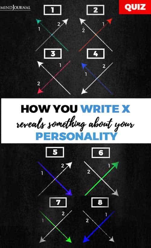 how you write x pin