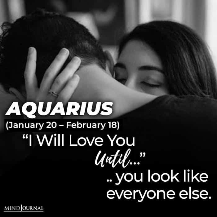 i will love you until aquarius