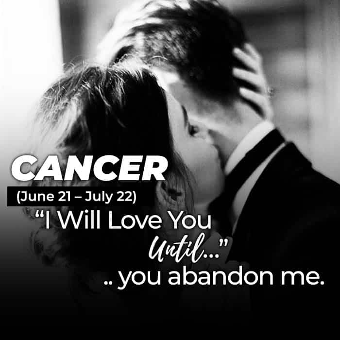 i will love you until cancer