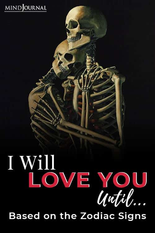 i will love you until pin