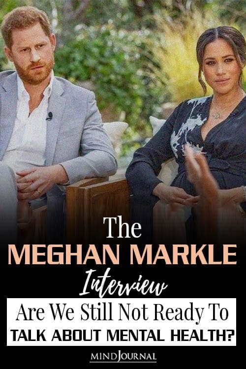 meghan markle interview about mental health pin