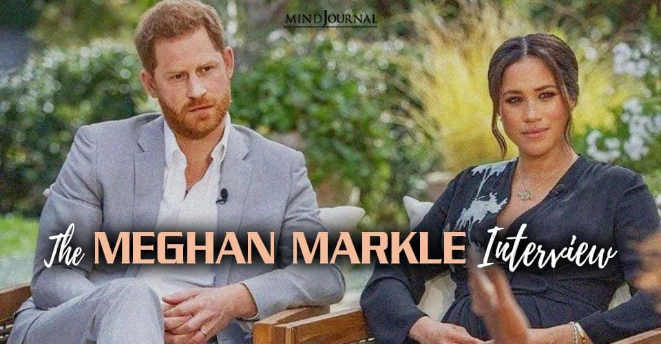meghan markle interview about mental health